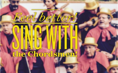 Want to get over that cold? Try singing with the Chordsmen!