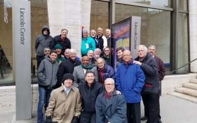 The Chordsmen sing in TOTAL VOCAL at Lincoln Center